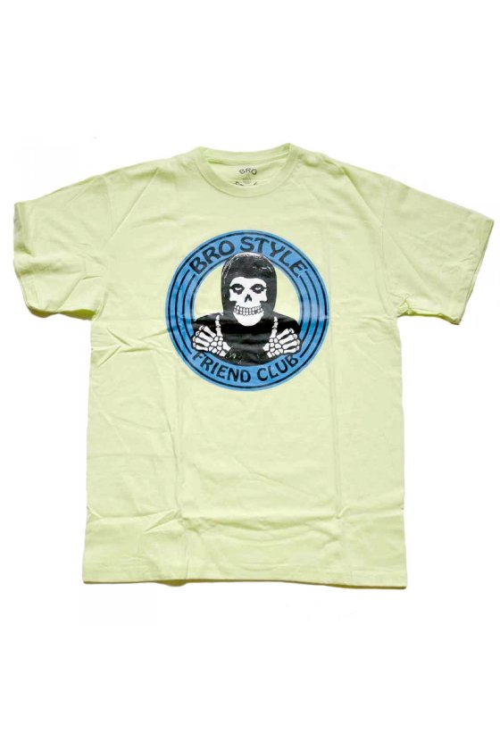 Bro Style - Friend Club Light Yellow Neon