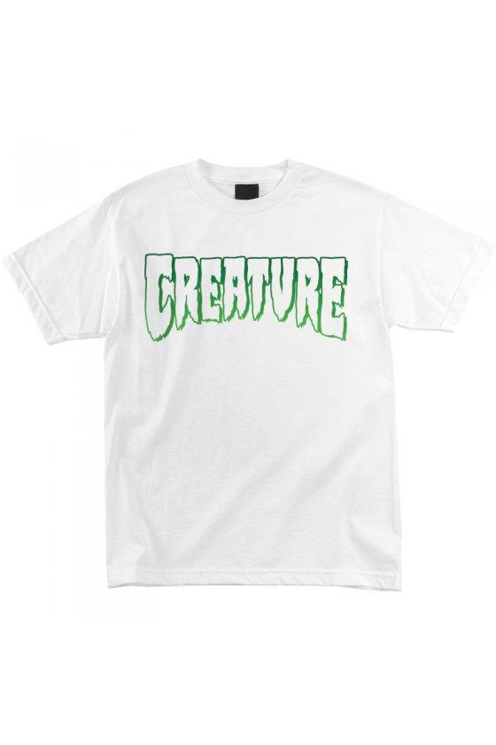 Creature - Logo Outline White