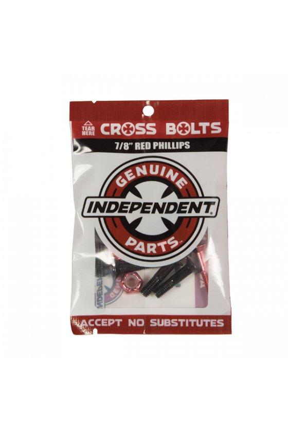 Independent - Genuine Parts Phillips Hardware 7/8 in Black/Red