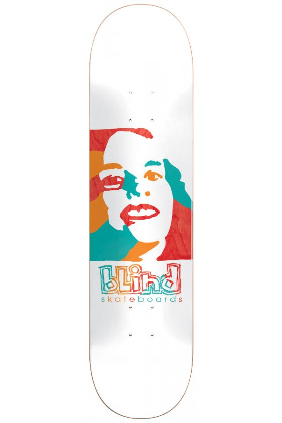 """Blind - Team Psychedelic Girl White 8.0"""""""