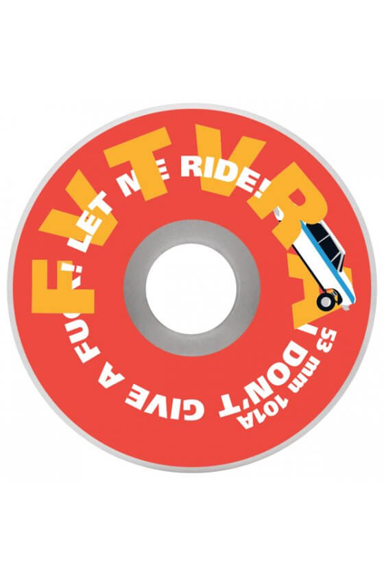 Fvtvra - Low Rider White 53mm
