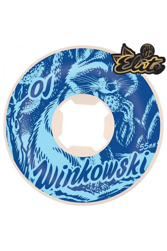 OJ - 55mm Winkowski Trash Pande Elite Blue Hardline 101A