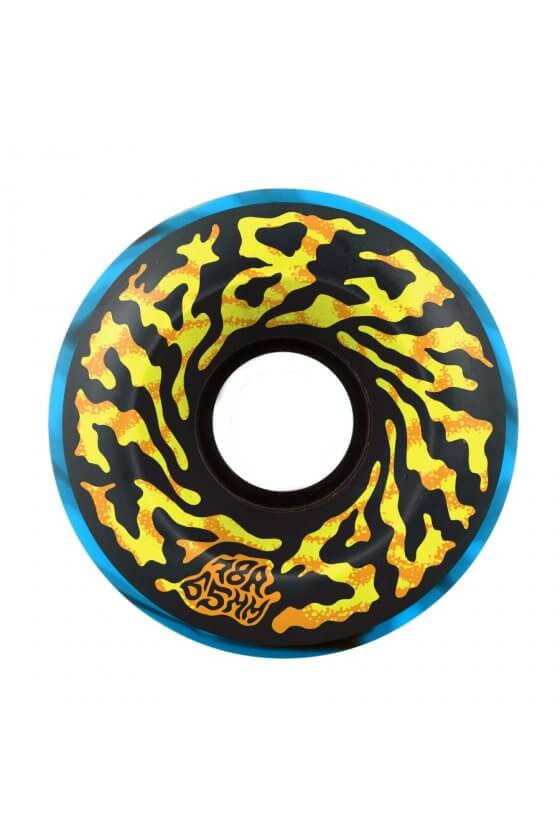 Santa Cruz - 65mm Slime Balls Swirly Black Blue Swirl 78A