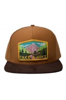 SkateMental - Cappellini Take A Hike Hat Brown Suede