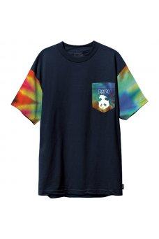 Enjoi - Tie Dye Sleeve Pocket Navy