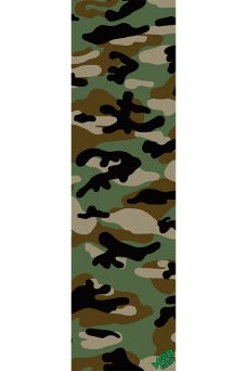 Mob - Camo Green Grip Tape 9in x 33in Graphic Mob