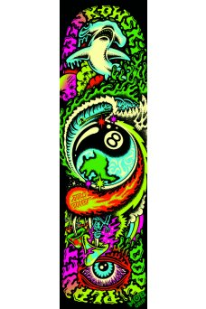 Mob - Santa Cruz Winkowski Dope Planet 9in X 33in