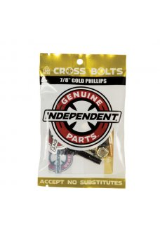 Independent - Genuine Parts Phillips Hardware 7/8 in Black/Gold
