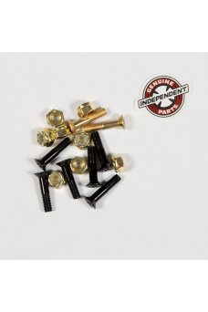 Independent - Genuine Parts Phillips Hardware 7/8 in Black/Gold