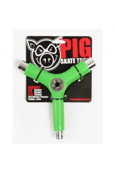 Pig - Tool Colored Green