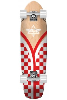 "Dusters - Flashback Checker Red White 31"" x 8.75"" - 62x51mm 83A - Tensor 5.0"" - Wheel Base 16.5"""