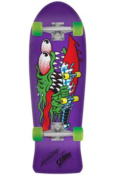 Santa Cruz - Slasher Mini 8.7in x 26.0in Cruzer 80s Cruzer