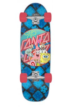 Santa Cruz - SpongeBob Spongegroup 8.79in x 29.05in Cruzer