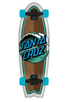 Santa Cruz - Wave Dot 8.8in x 27.7in Cruzer Shark