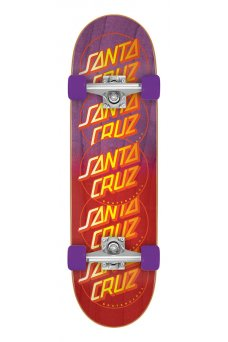 Santa Cruz - Classic Dot Stack 9in x 32.15in Cruzer Popsicle Cruzer