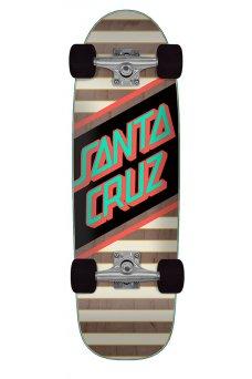 Santa Cruz - Street Skate 8.79in x 29.05in Cruzer Street Black Red