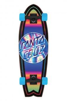 Santa Cruz - Iridescent Dot 8.8in x 27.7in Cruzer Shark Santa Cruz
