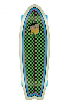 Santa Cruz - Rad Dot 8.8in x 27.7in Cruzer Shark Santa Cruz