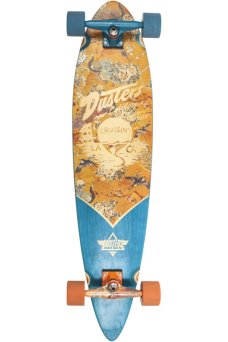 "Dusters - Cruisin Kimono Orange 37"" x 8.75""- 65x47mm 78A - Tensor 6.0"" - Wheel Base 24.5"""