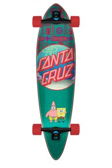 Santa Cruz - SpongeBob Best Buds 9.58in x 39.0in Cruzer Pintail