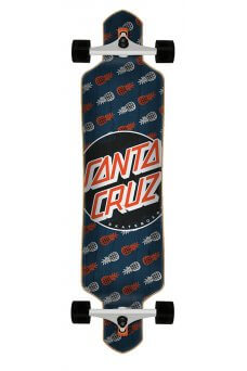Santa Cruz - Tropic Dot 9.2in x 41in Cruzer Drop Thru
