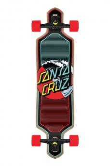 Santa Cruz - Wave Dot Splice 9.0in x 36in Cruzer Drop Thru
