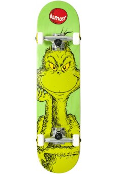 """Almost - Grinch FP Green 7.75"""""""