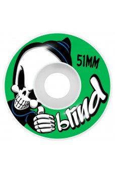 Blind - Retro Reaper FP Soft Wheels Green 7.375