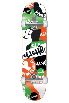 Cliche - Patch FP Mid Orange Green 7.375""
