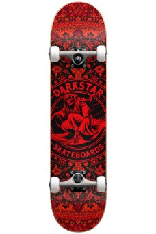 "Darkstar - Magic Carpet FP Red 7.375"" Mid W/Stockin"