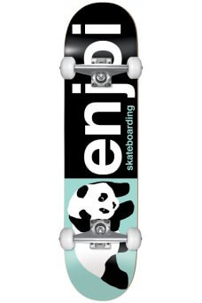 Enjoi - Half And Half FP Black Light Green 8.0""