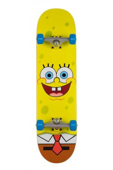 Santa Cruz - SpongeBob Face Sk8 Completes 8.0in x 31.6in