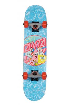 Santa Cruz - SpongeBob Spongegroup Sk8 Completes 6.75in x 28.5in