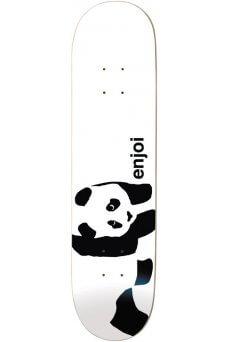 """Enjoi - Team Whitey Panda Logo Wide R7 Whitey 8.25"""""""