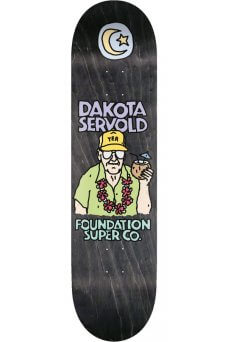 Foundation - Pro Servold Old Guys Black 8.0""
