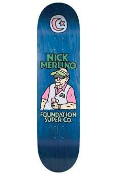 Foundation - Pro Merlino Old Guys Blue 8.5""