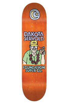 Foundation - Pro Servold Old Guys Orange 8.0""