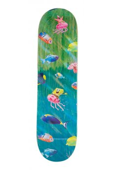 Santa Cruz - Collabo SpongeBob Bikini Bottom 8.25in x 31.8in