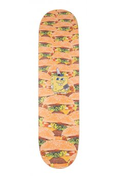 Santa Cruz - Collabo SpongeBob Krabby Patties Everslick 8.0in x 31.6in