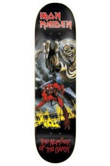 "Zero - Iron Maiden Number Of The Beast 8.25"""