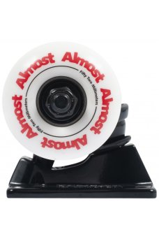 Almost - Combo Almost Color Truck & Wheel Combo Black 5.25