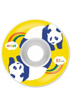 Enjoi - Rainbow Fart White Yellow 52mm