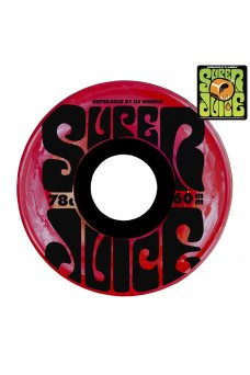OJ - 60mm Super Juice Trans Red 78a