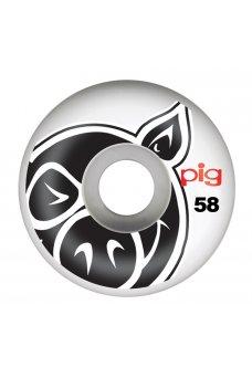Pig - Head Natural 58mm