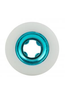 Ricta - 54mm Nyjah Huston Chrome Core White Teal Slim 99a