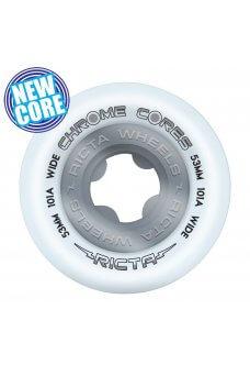 Ricta - 53mm Chrome Core Silver Wide 101a