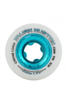 Ricta - 53mm Nyjah Huston Chrome Core White Teal Slim 99a