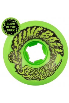Santa Cruz - 58mm Slime Balls Vomit Mini Green Glow 97a