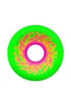 Santa Cruz - 54.5mm OG Slime Green Pink 78a