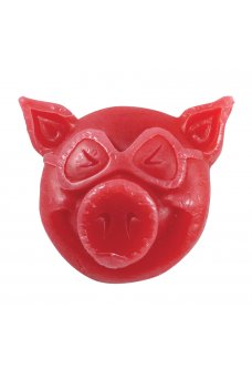 Pig - Head Wax Red